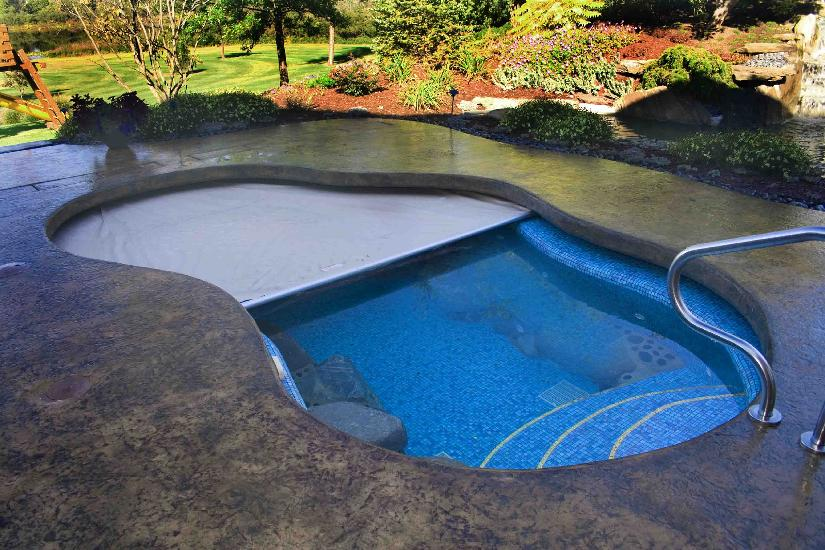 Our work great lakes automatic pool covers for Pool design handbook